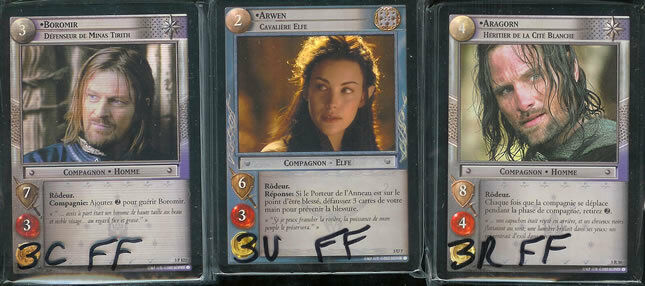 LOTR CCG TCG Realms Of The The The Elf Lords FOIL Set FRENCH f77fd7
