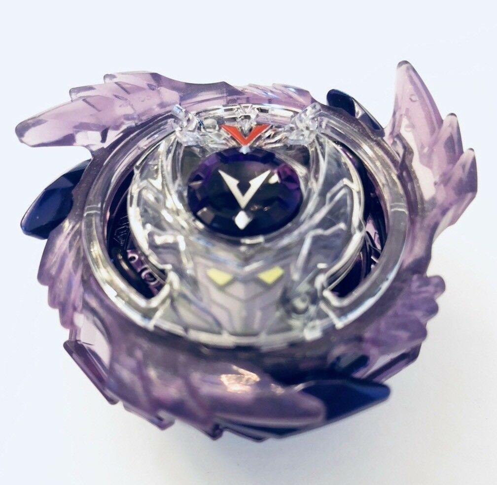 Beyblade Burst God Valkyrie V3 Genesis Valtyrek USA Crystal lila ReStiefel