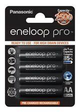 1x4 Panasonic Eneloop Pro Mignon AA 2450 mAh