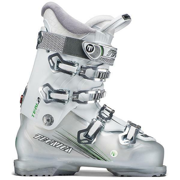 2017 Tecnica Ten.2 85W Womens Alpine Ski Boots Size 23.5 276 mm 6.5 White Quadra