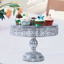 3 Pieces 1//12 Cake Plate with Cover for Wedding Birthday Party Serving Trays