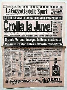 GAZZETTA-DELLO-SPORT-31-10-1983-JUVENTUS-SAMPDORIA-1-2-ROMA-NAPOLI-5-1-MILAN-4-1