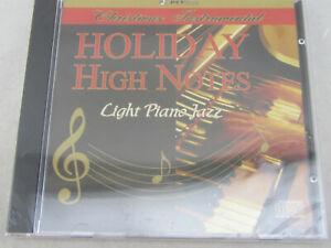 New Holiday High Notes Christmas Instumental Light Jazz Pian (CD 2006)