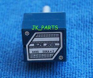 2pcs-ORIGINAL-ALPS-RK27-27-Type-Dual-50K-Potentiometer-Brand-New