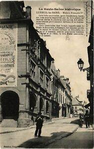 CPA-Luxeuil-les-Bains-Maison-Francois-Ier-636126
