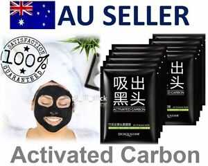 5x-Masks-Activated-Carbon-Face-Mask-Blackhead-Remover-Nose-Acne-Deep-Cleaner