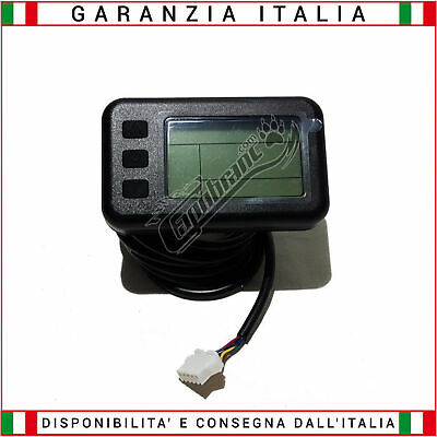 Display LCD 24//36//48 Volt Connessione STANDARD