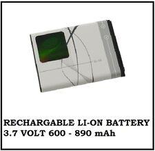 Replaceable Li-On Battery for Nokia Phones Model BL-5B 3.7V 890mAh