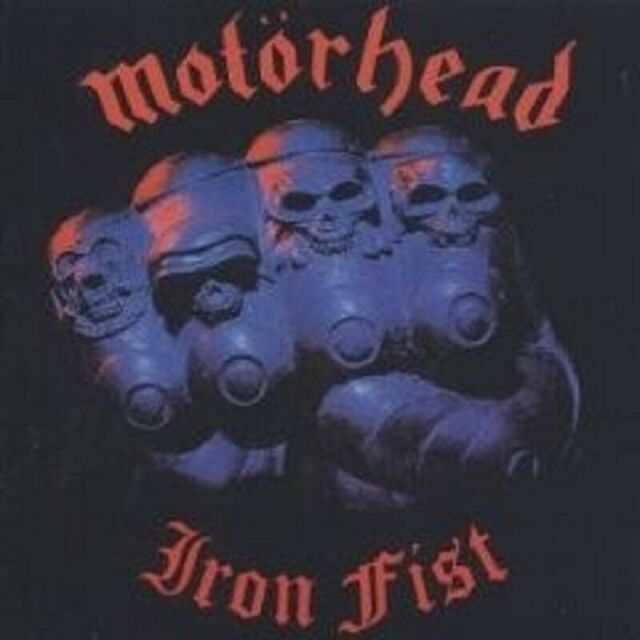 "MOTÖRHEAD ""IRON FIST"" 2 CD NEU"