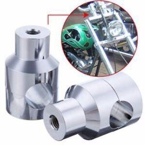 1-034-Chrome-Handlebar-Riser-For-Kawasaki-Vulcan-VN-800-900-1500-1600-1700-Classic