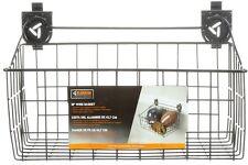 Gladiator Closet Wall Storage Track Channel Home Garage Organizer Wire Basket