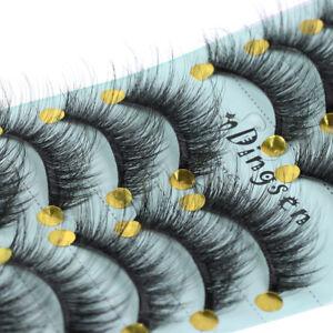 10Pairs-Mink-Hair-False-Eyelashes-Thick-Long-Fluffy-Wispy-Lashes-Flutter-Lashes