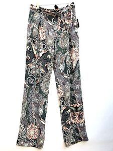 Loose Trousers Paisley Palazzo 079Ebay Ref 7800 SM Size Zara Fit zpqSMUV