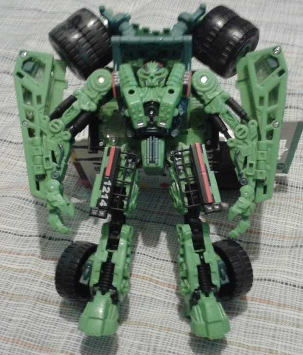 Transformers rougeF Longhaul  - Loose Complete  différentes tailles