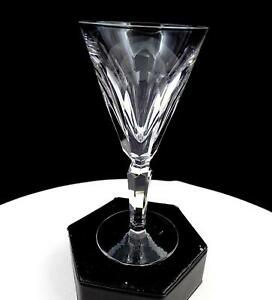 WATERFORD-SIGNED-SHEILA-CUT-CRYSTAL-5-3-8-034-SHERRY-GLASS-1958-2017