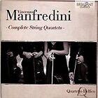Vincenzo Manfredini - : Compelete String Quartets (2014)