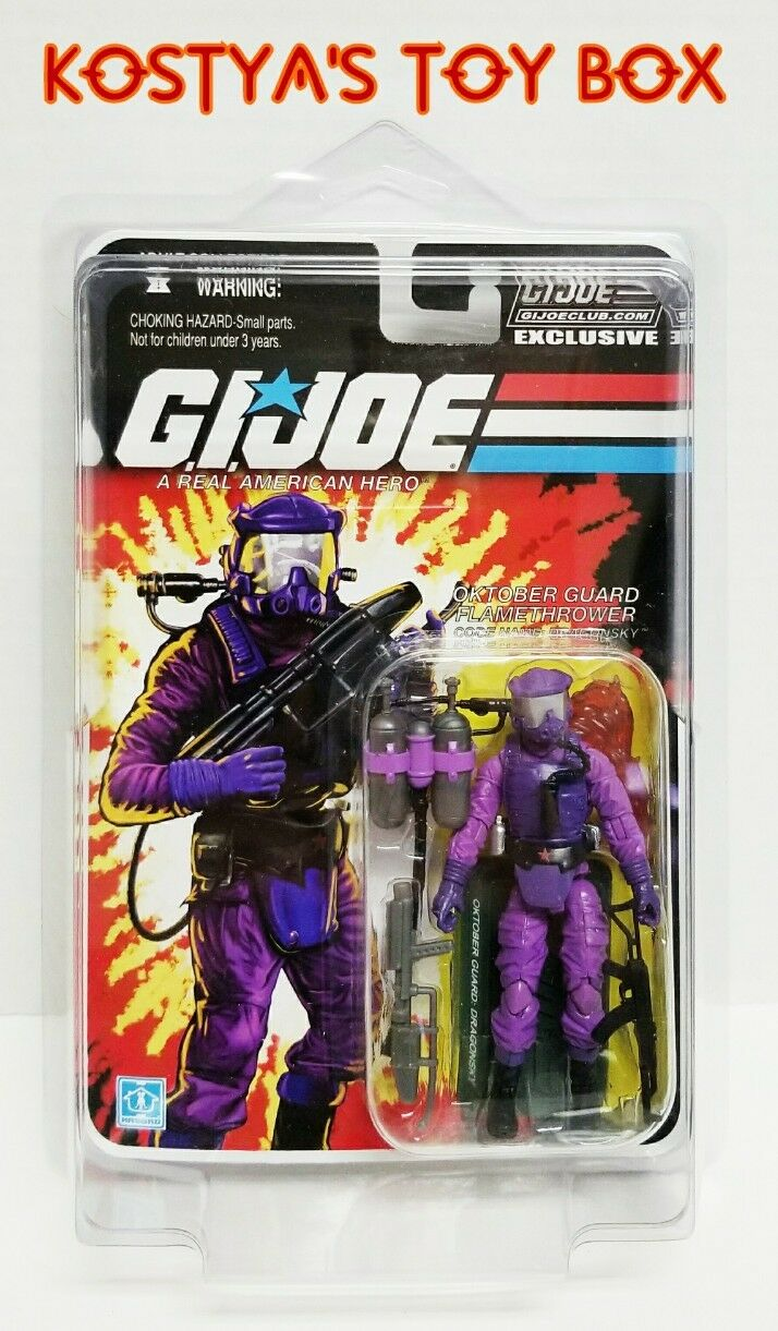GI Joe drakeGSKY 2014 MOC FSS Hasbro samlaors Club 2.0 25TH 30TH Action Figur