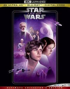 Star Wars Episode Iv A New Hope Blue Ray 2020 3 Disc Set 786936869415 Ebay