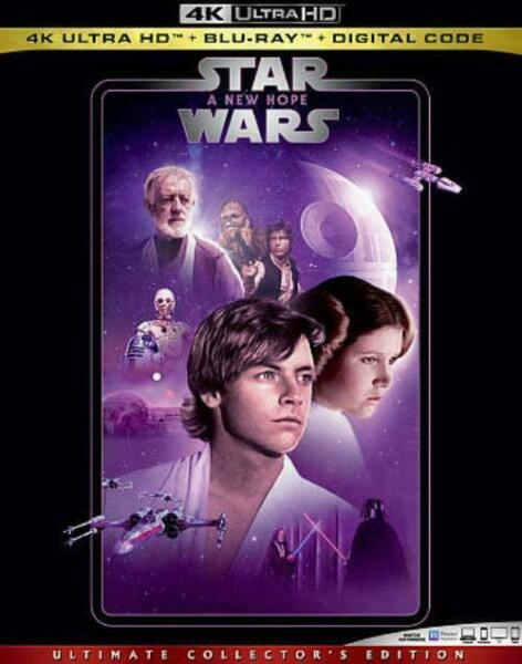 Star Wars 8 Blue Ray