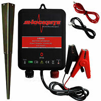Electric Fence Energiser 12v Battery Power High Output 0.6j 2 Year Warranty