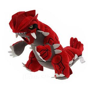 Legendaire-Pokemon-13-039-039-Groudon-Farci-Animal-Nintendo-Peluche-Doux-Jouet