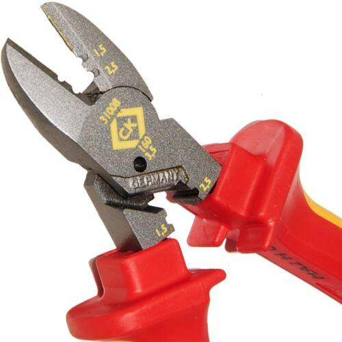 CK COMBICUTTER 3 160mm Redline VDE Side Wire//Cable Cutter//Strpper Plier 431008