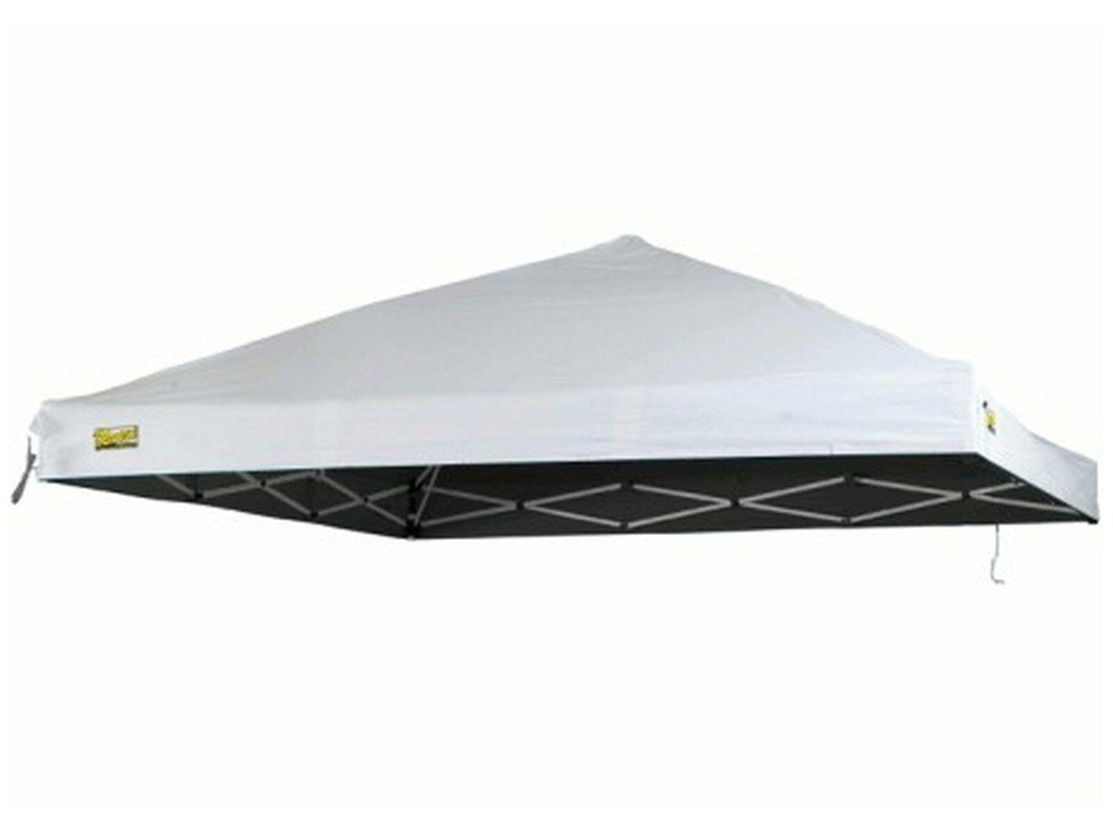 Tetto Top Telone per gazebo Ricambio in poliestere e PVC Bianco Rapido 3x3 Berto