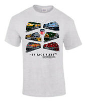 Union Pacific Heritage Fleet Authentic Railroad T-shirt Tee Shirt [12]
