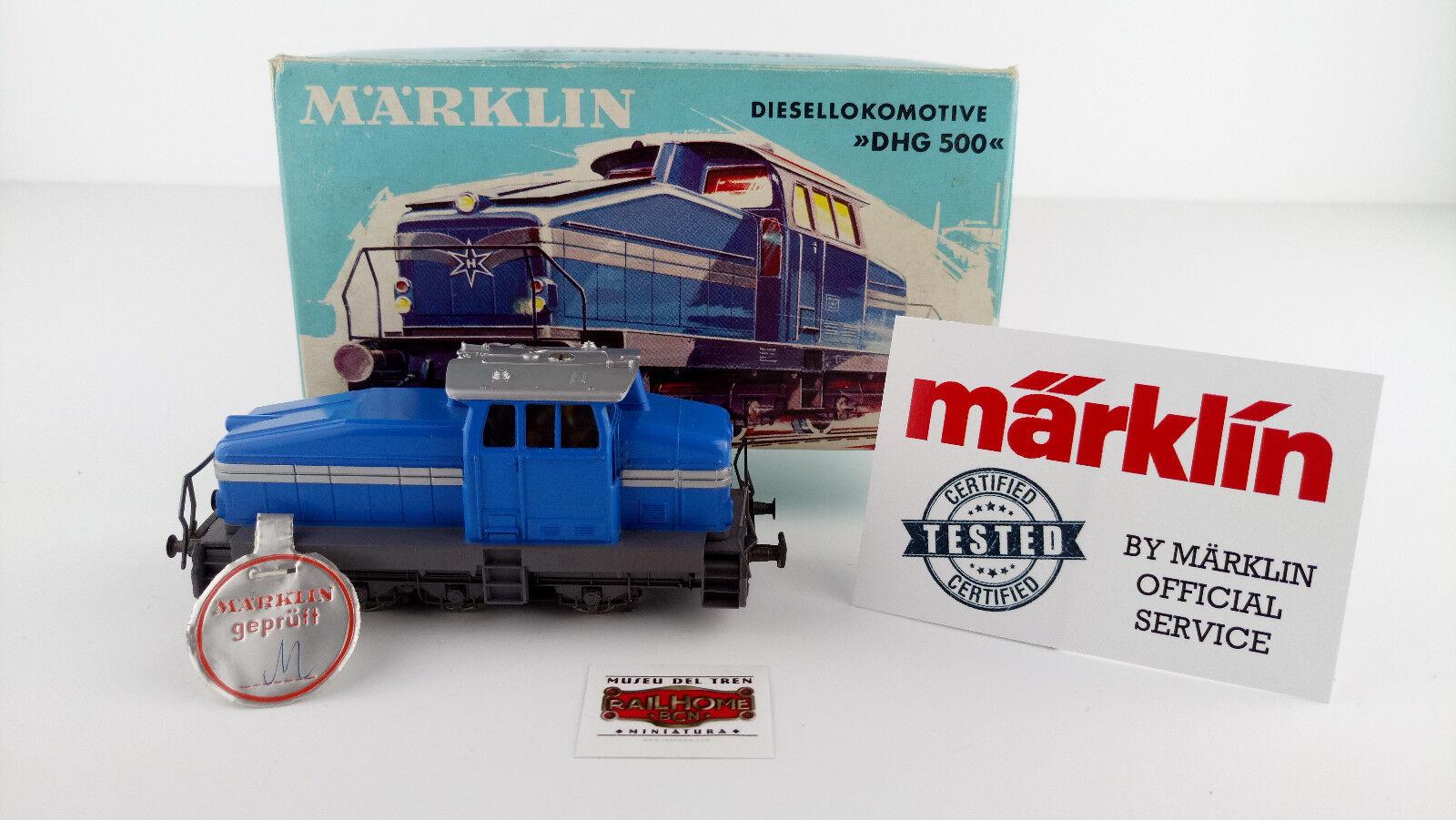 MARKLIN HO 3078 - DIESEL-LOK - TESTED - VERY GOOD CONDITION - PRUFSIEGEL - OVP