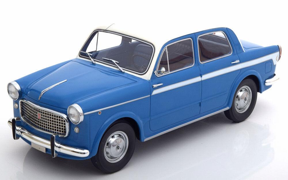 1 Fiat 0 Lusso Bluewith Blanco Techo por Bos Modelos Le de 504
