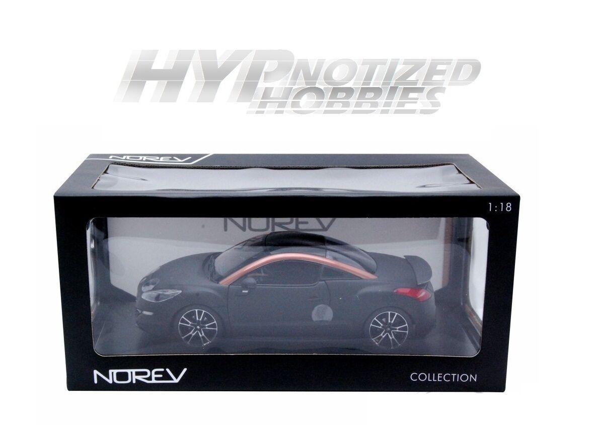 promocionales de incentivo Norev 1 18 18 18 2012 Peugeot RCZ R Die-Cast Negro 184785  liquidación hasta el 70%