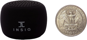 World's Smallest Portable Bluetooth Speaker Best Audio Quality Size 30+ Ft Range