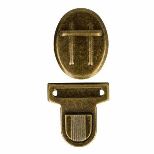 1 pares 50x38,5 mm /& bolsillos castillo 2 unid. steckschloss-asignar 3 colores