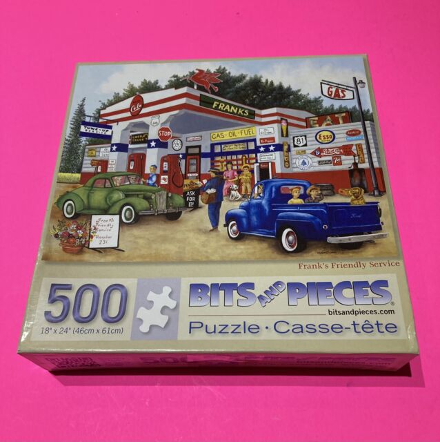 Bits And Pieces Frank's Friendly Service 500 Piece Jigsaw ...