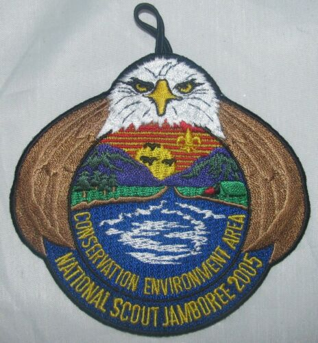 National Jamboree 2005 Conservation Enviornment Area Pocket Patch BSA