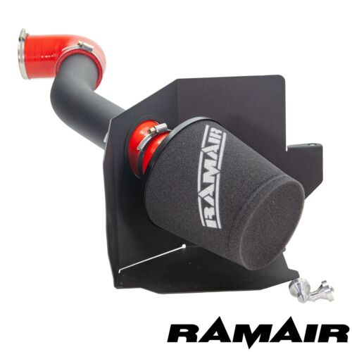 Red Ramair Air Filter Induction Intake Kit for Ford Fiesta mk8 1.0 Ecoboost