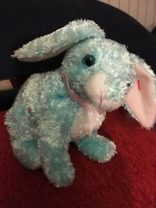 TY SPRING the BUNNY BEANIE BABY MINT with MINT TAGS