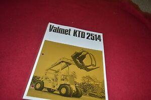 Valmet Valtra HJ 30A 30B 40 50 Dealer/'s Brochure DCPA2
