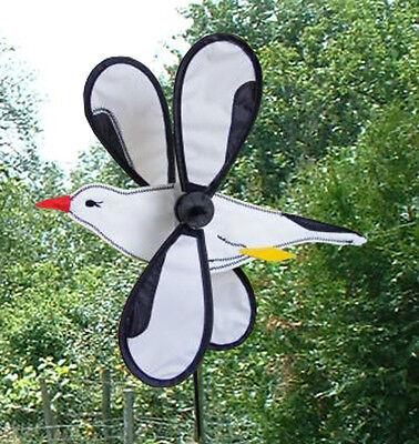 Girouette Eolienne Mouette 43 x 38 x 55 cm Moulin à vent