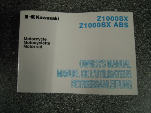 99976-1693 Deutsch 528 Bedienungsanleitung Kawasaki Z1000SX ABS ZX1000GC//HC