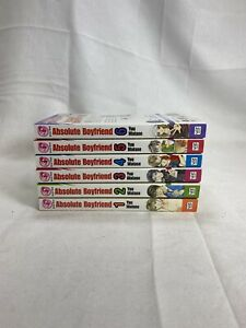 Sojo Beat Absolute Boyfriend Vol. 1-6 Manga English Complete Collection Lot
