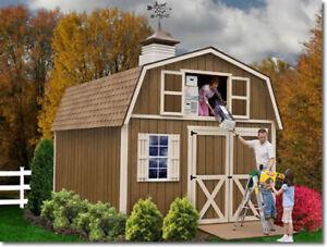Image Is Loading Best Barns Millcreek 12x16 Wood Storage Shed Kit