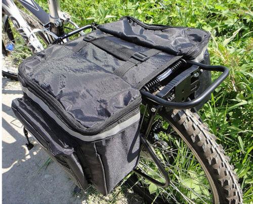 Cycling Rear Rack Seat Trunk Saddle BikeTail Storage Pannier Pouch Bicycle  Bag