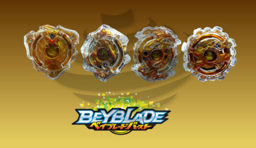 Beyblade Burst Layer Collection Gold Version Full Set-