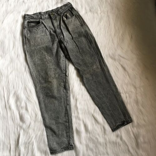 """Sz Wash Chic Chic Sz Jeans Tapered 80s 29 Vintage Vintage Mom High Acid Rise 29"""" Gray Waist ffCqw1Fx"""