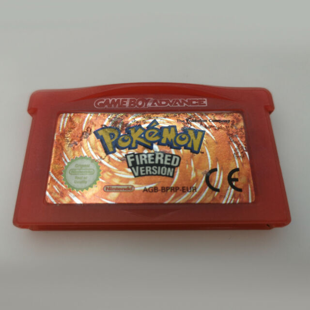 Authentic Pokemon FireRed | Nintendo Gameboy Advance GBA | Good Condition