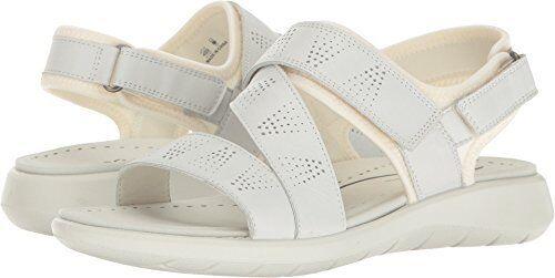 ECCO Damenschuhe Soft 5 Cross Strap Flat Sandale /8-- Pick SZ/Farbe.