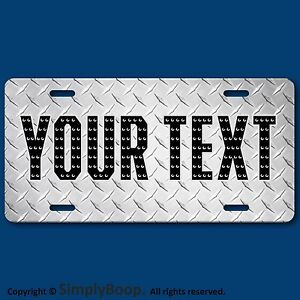 Your Text Name Personalized Custom License Plate Auto Car