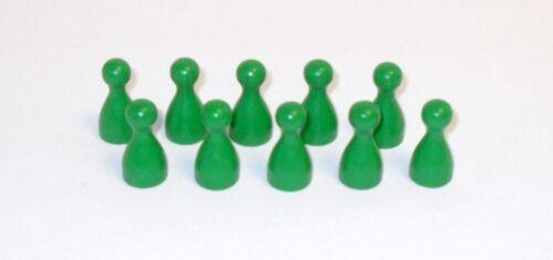 LEGNO VERDE 25 mm Pöppel figure gioco 100 pezzi Halma Cono A