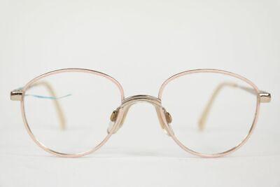 Entusiasta Vintage Metzler 8800 42 [] 16 120 Beige-argento Ovale Occhiali Montatura Nos-mostra Il Titolo Originale